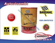 1 LITRO LT OLIO MOTORE AUTO BARDAHL XTC C60 10W40 POLAR PLUS FULLERENE TAGLIANDO