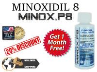 KIRKLAND MinoxP8® MINOXIDìL 6+1 MESI RICRESCITA CAPELLI HAIR REGROWTH FOLIGAIN