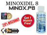 KIRKLAND MinoxP8-Minoxidìl 6+1 MESI RICRESCITA CAPELLI HAIRLOS REGROWTH FOLIGAIN
