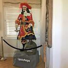 Rare Capitan Morgan Life Size Fiberglass Pirate Statue Display