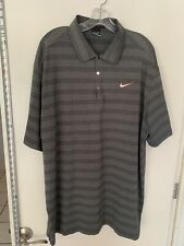 Tiger Woods Collection Nike Golf Polo 2Xl Euc