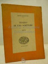 Dostojevskij: Diario di uno Scrittore, Einaudi 1943, Memorie, Filosofia, Russia