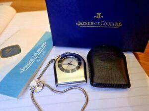 Jaeger LeCoultre Taschenuhr Memovox 11007/6 Datum/Wecker/Fullset/60er