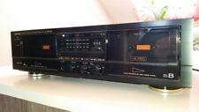 DRW-650 Denon Stereo Double Cassette Deck Twin Tape Player DOLBY B-C NR HX PRO.