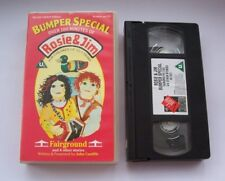 Over 100 minutes of ROSIE & JIM - Bumper Special (7 stories) VHS video - tested