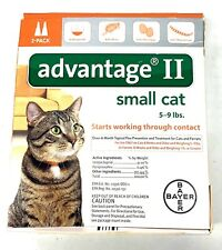 Advantage Flea Control for Cats 1-9 lbs 2 Month Supply