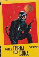 Dalla terra alla luna Jules Verne Edizioni Paoline 1973 2712