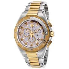Technomarine Men's TM-215041 Steel Manta Quartz White Dial Watch