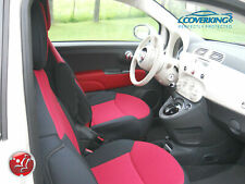 Coverking Neosupreme Custom Tailored Front Seat Covers for Fiat 500