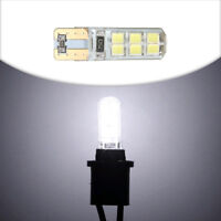 1*Auto Car COB 2835 SMD T10 194 W5W  12 LED Canbus Super Bright License Light