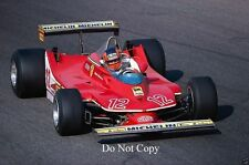 Gilles Villeneuve Ferrari 312 T4 Italian Grand Prix 1979 Photograph