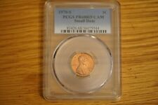 1970-S Lincoln Memorial Cent PCGS PR68RD CAM, Small Date