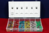 Mini Car Fuse Assortment Assorted Kit Blade Set Auto 120 pc Truck Automotive