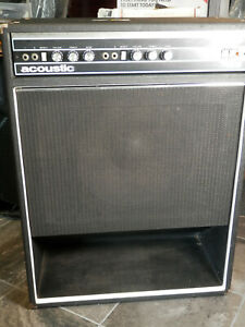 Acoustic 136 Bass Combo amplifier used Recently Serviced