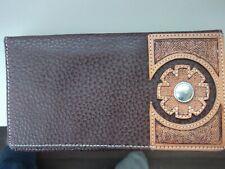 Mens Leather Wallet/ Billfold  WRANGLER Brand