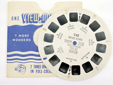 View-Master 1950s MOVIE STARS Hollywood USA - Single Reel 742 - PD