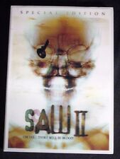 BRAND NEW!!!  SAW II  2 Special Edition with Sleeve DVD 2006 TWO DISC SET