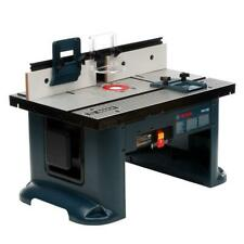 Bosch 27 in. x 18 in. Aluminum Top Benchtop Router Table with Vacuum Hose Port