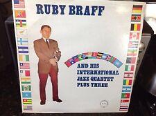 RUBY BRAFF - His International Quartet + 3 ~ CHIAROSCURO 115 {white label} >RARE