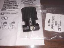 "LPR543 1/4"" Miniature Air Pressure Regulator 250 max inlet/50 psi max outlet G12"