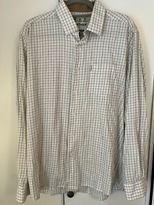 Mens Barbour Country Check Shirt Large