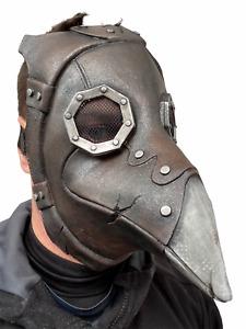 Plague Doctor Mask Long Nose Beak Steampunk Masks Halloween Costume Accessory