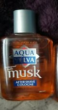 1 Aqua Velva Musk After Shave Cologne -  3.5 oz