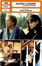 Movie Card. Fiche Cinéma. Dolores Claiborne (U.S.A.) Taylor Hackford 1995