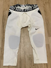 Nike Pro HyperStrong Men's Baseball Slider Tights 807852-100 Sz 3Xl Sold As Is