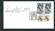 Dollard St. Laurent signed cover Chicago Black Hawks