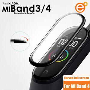 Protector de Pantalla Transparente y Completa x2 Para Xiaomi Mi Band 3 4