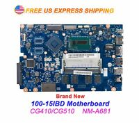 New Lenovo 100-15IBD CG410/CG510 NM-A681 intel i3-5005U Motherboard