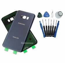 New Orchid Gray Glass Battery Back Door Cover For Samsung Galaxy S8 Plus G955 US
