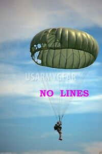 MC1 Military Parachute 35' Canopy with Cut Lines Wedding Yard Party Cover Fabric