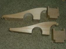 Wooden Bridge w/ Risers Train Tracks Ikea Thomas Brio Compatible