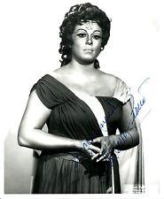 GILDA CRUZ-ROMO opera soprano signed photo as Aida