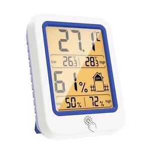 Digital Thermometer Indoor LCD Hygrometer Temperature Humidity Meter Monitor