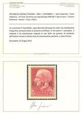REPUBBLICA SOCIALE ITALIANA – 1943 – (DICEMBRE) – Serie Imperiale