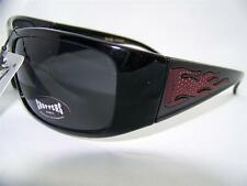Choppers Sunglasses w/Flames Biker,Motorcycle,Sport,Riding,Black/Red,Item# 208 F