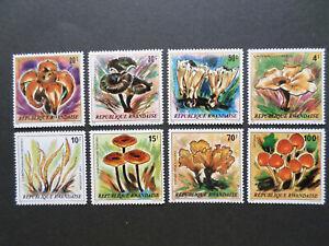 RWANDA  941 / 948  NEUFS  **  CHAMPIGNONS  DE  1980  COTE  30  EUROS
