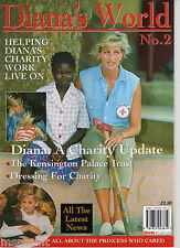 Princess Diana: RARE MAGAZINE PART TWO DIANA'S WORLD DRESSES CHARITY WORK