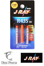 J-RAY - FISHING LED LIGHT STICK pesca R435 - Ø4,0mm - RED - blister 2pz