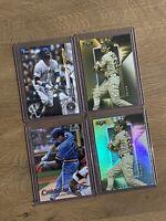 Christian Yelich Milwaukee Brewers - 4 Topps Baseball Card Lot