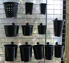 """Pot Clip to hang pots on wire mesh - pack of 10. For pots up to ~140mm (~5½"""")"""