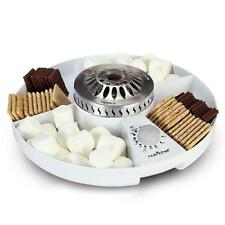 New! NutriChef PKSMGM26 S'mores Maker - Electric Marshmallow Candy Melter 100W