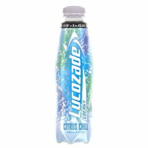 24 x Lucozade Energy Citrus Chill 380ml Fitness Drink FREE DELIVERY