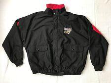 Mens Vintage Team Duron Mike Wallce Nascar Racing Windbreaker Jacket (XL) J11