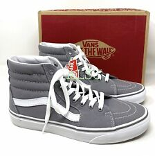 VANS SK8-HI Canvas Suede Frost Grey Men's Womens Sneakers VN000TS9L5O