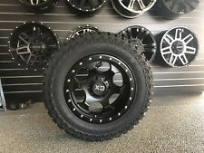 KMC XD SERIES RG1 17x8 WHEELS TYRES FORD RANGER DMAX HILUX L200