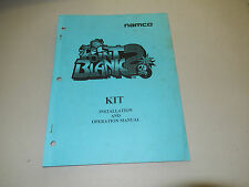 original POINT BLANK 2 KIT NAMCO   arcade video game owners manual